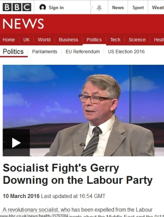 Image result for Gerry Downing