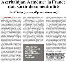 """Clémentine Autain on Twitter: """"Face aux agressions commises par  l'Azerbaïdjan contre l'Arménie dans le Haut Karabakh, la neutralité n'est  pas une position tenable. Dans le JDD, cet appel que j'ai cosigné 👇…"""