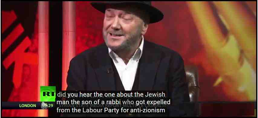 Tony Greenstein's Blog: 'Did You Hear the One About the Jewish Man who Got Expelled from the Labour Party for anti-Zionism?'